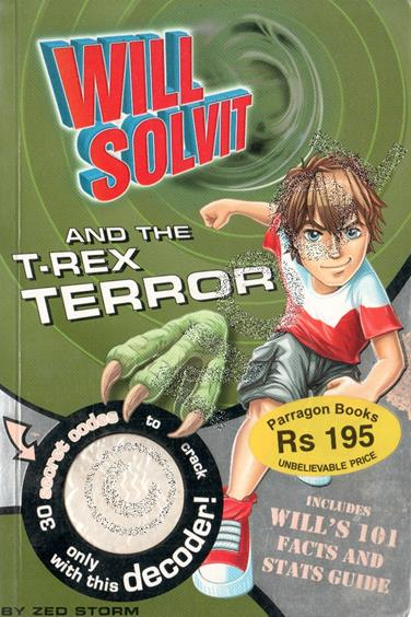 Will Solvit And The T-Rex Terror #1