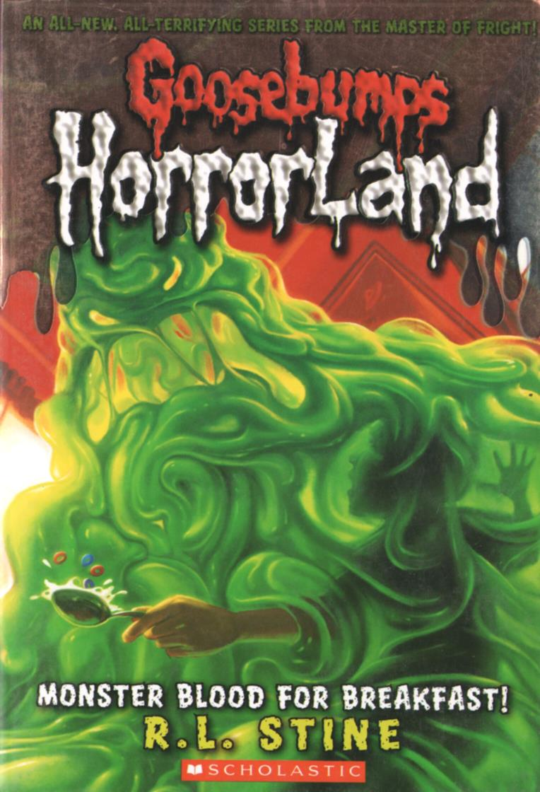 book report on goosebumps horrorland Goosebumps horrorland is a series of books written by rl stine it began in 2008, and ended in 2011 with nineteen books published the series was a serialized adventure welcoming fans to horrorland, a vast theme park run by creatures called horrors the series also had story arcs, a goosebumps.